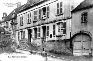 Commencer son autobiographie - maison de Colette
